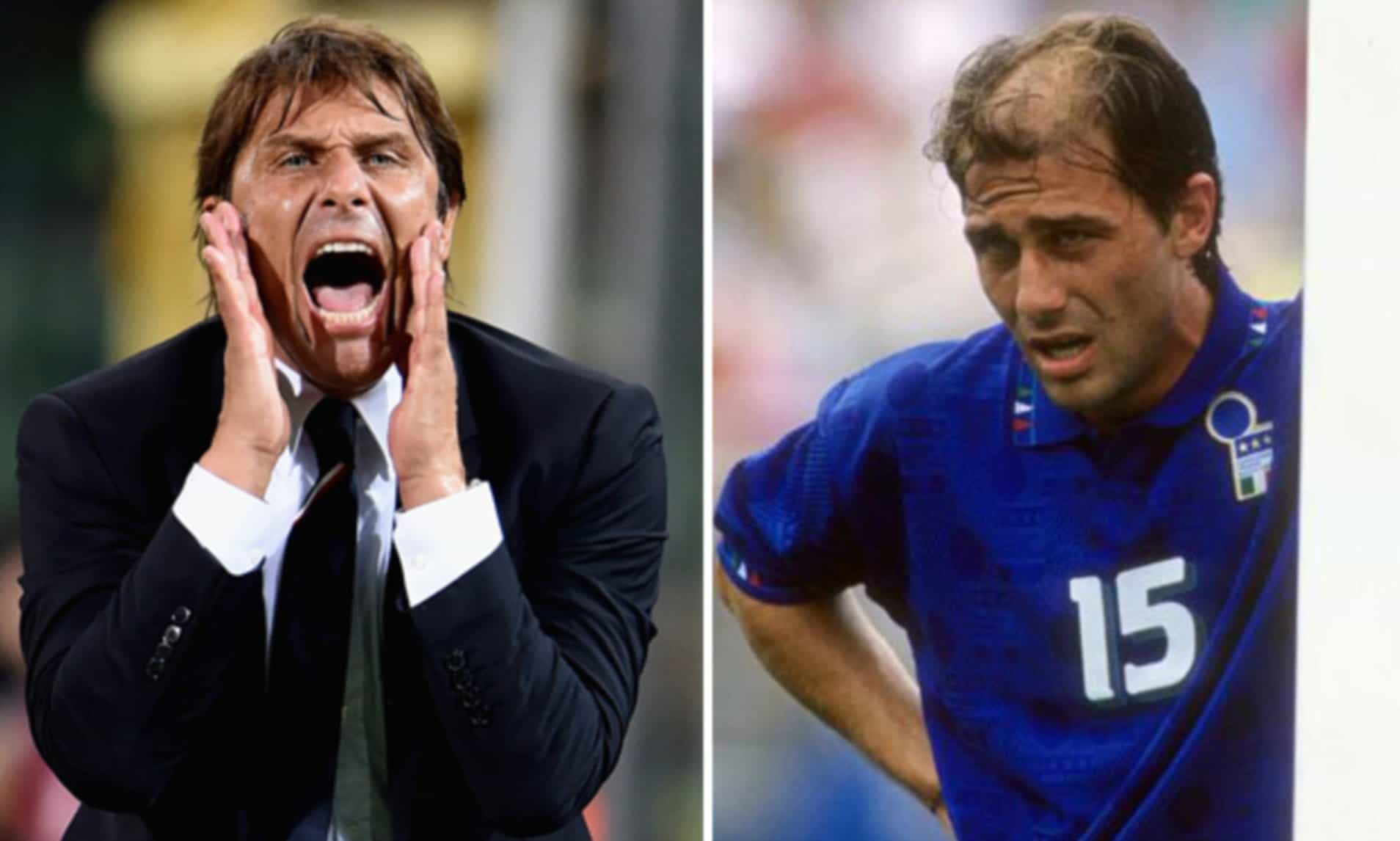 """Il """"miracolo"""" dei capelli di Antonio Conte"""