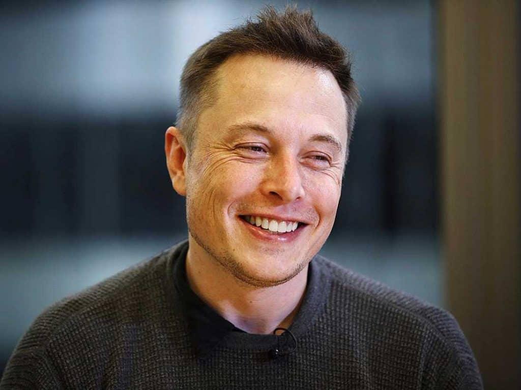 Elon Musk new hair